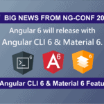 Angular CLI 6 & Angular Material 6 Features