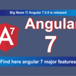 Angular 7 Features