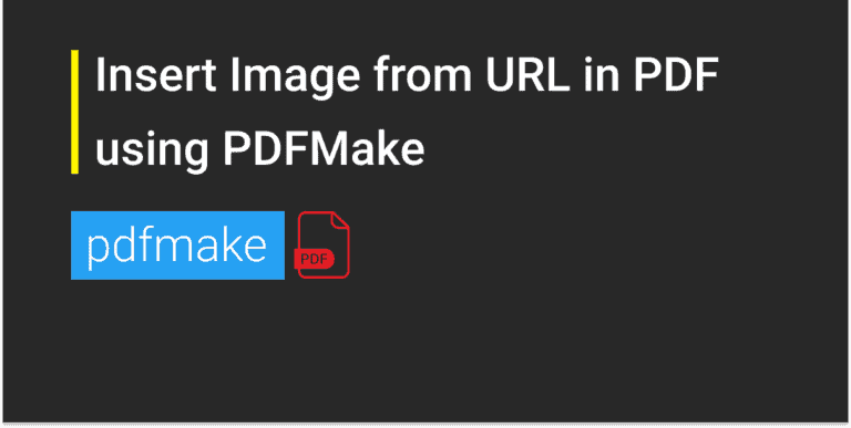 Insert Image from URL in PDF using PDFMake